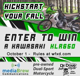 Win a Kawasaki KLR650